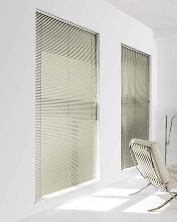 FastTrack Ecru Perforated Aluminium Venetian Blinds