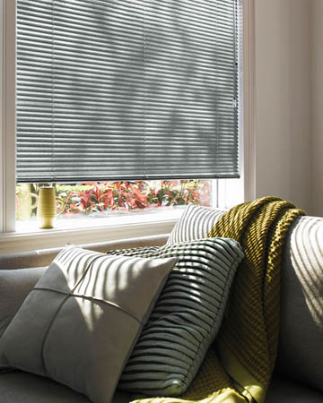 Fasttrack Perforated Grey Aluminium Venetian Blinds