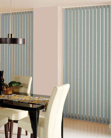 Decora Lisi Olivine Vertical Blinds