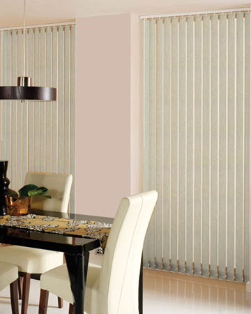 Decora Petrusca Cream Vertical Blinds