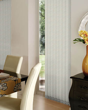 Decora Sahara Cream Vertical Blinds
