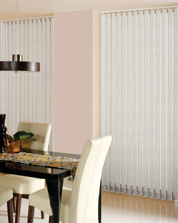 Decora Samba Oyster Vertical Blinds