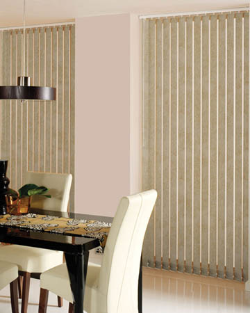 Decora Toro Bisque Vertical Blinds