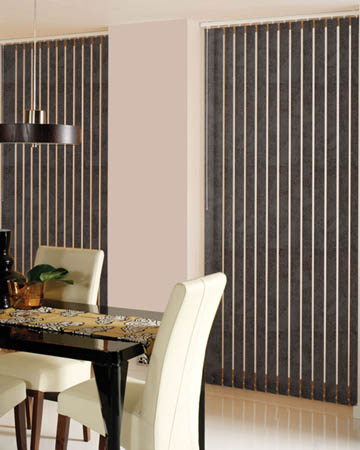 Decora Toro Mocha Vertical Blinds
