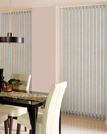 Decora Toro Vanilla Vertical Blinds