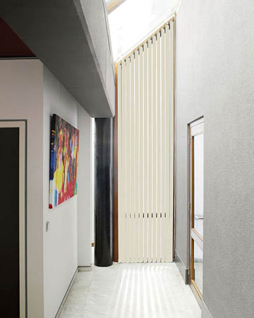Decora Unilux Butter Vertical Blinds