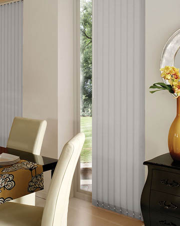 Decora Unilux Grey Vertical Blinds