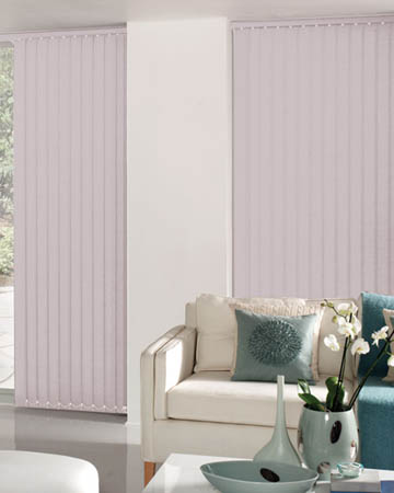 Decora Unilux Lilac Vertical Blinds
