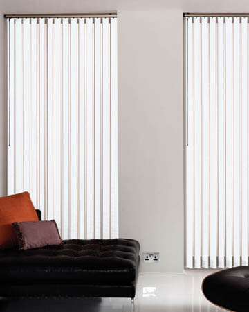 White Vertical Blinds Blinds Uk
