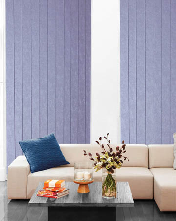 Diamond Silver Vertical Blinds