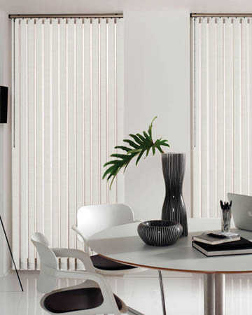Contract White Vertical Blinds
