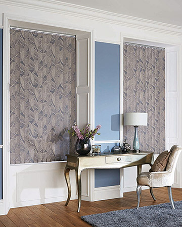 Louvolite Botanica Forget-Me-Not Vertical Blinds