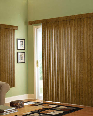 Abachi Vertical Blinds