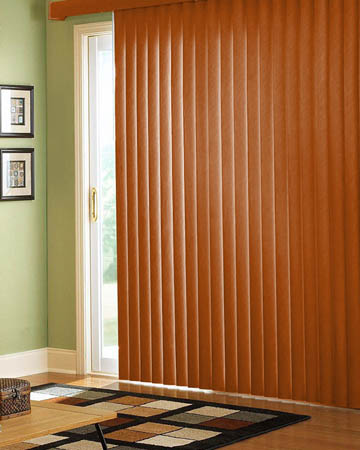 Enhanced Beech Vertical Blinds