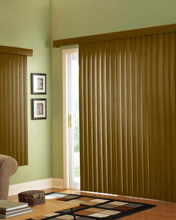 Harvester Oak Vertical Blinds