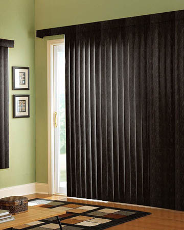 Khaya Mahogany Vertical Blinds