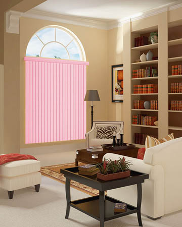 Roze Vertical Blinds