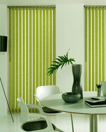 Eclipse Atlantex Lime Vertical Blinds