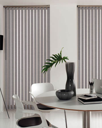 Eclipse Palette Concrete Vertical Blinds