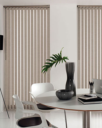 Louvolite Carnival Clay Vertical Blinds