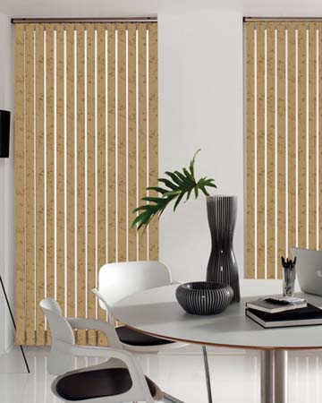 Louvolite Collina Antique Gold Vertical Blinds