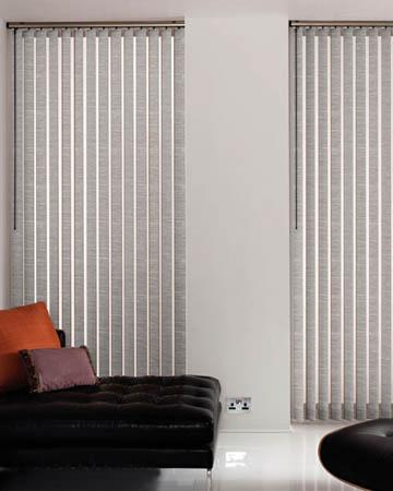 Louvolite Harmony Greystone Vertical Blinds