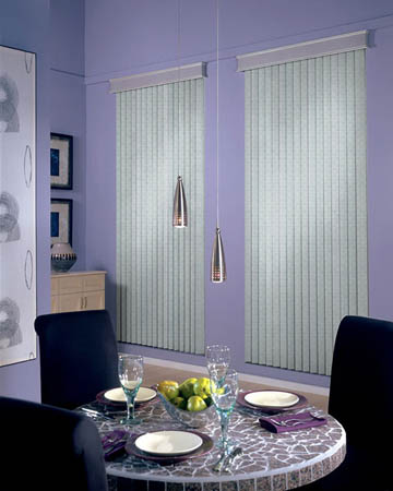 Louvolite Madrid Spc Chrome Vertical Blinds