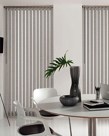 Louvolite Nocturne Steel Vertical Blinds