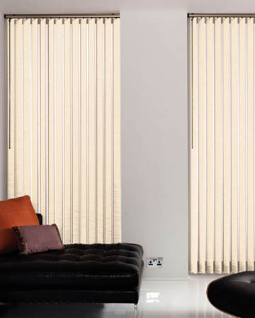 Louvolite Palm Ivory Vertical Blinds
