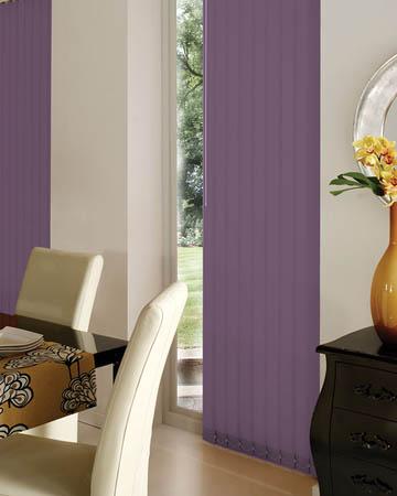 Prima Purple Vertical Blinds