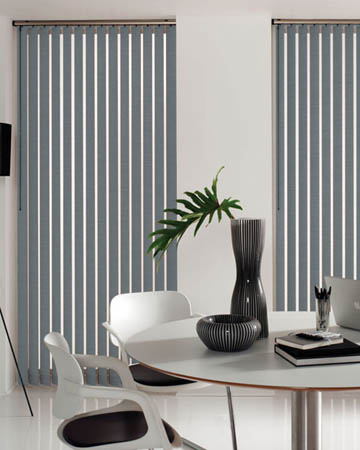 Prima Slate Vertical Blinds