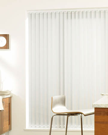 Prima White Vertical Blinds