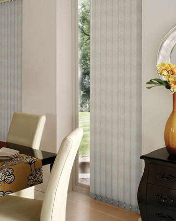 Samba Cream Vertical Blinds