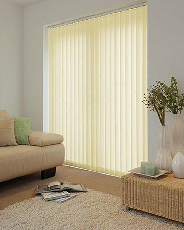 Simply Cream Vertical Blinds