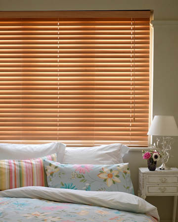 Budget Beech Wooden Blinds