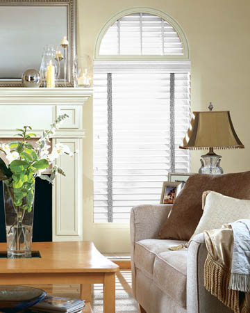 Budget White Wooden Blinds