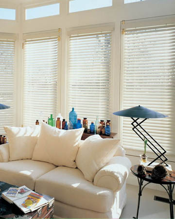 Ivory Wooden Blinds