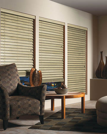Alabaster Wooden Blinds