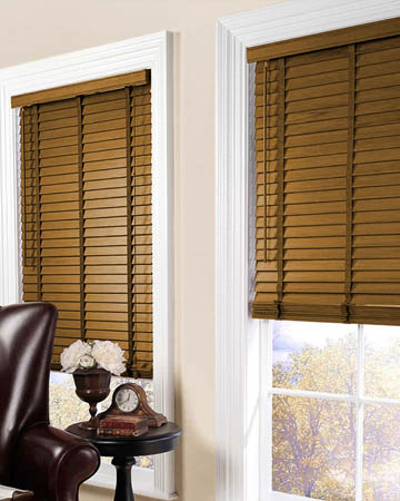 Light Oak Wooden Blinds