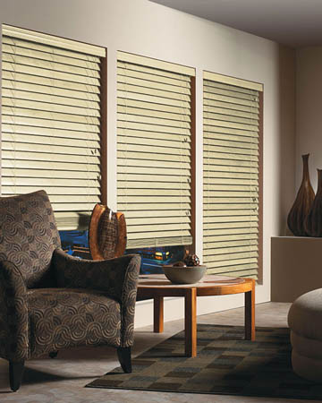 Linen Wooden Blinds