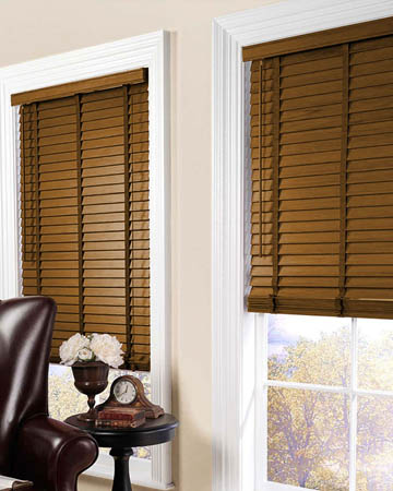 Timberlux Pecan Wooden Blinds