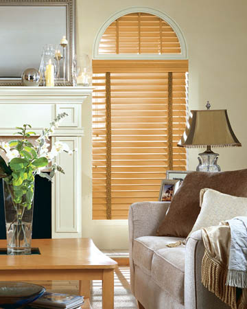 Sugar Maple Wooden Blinds