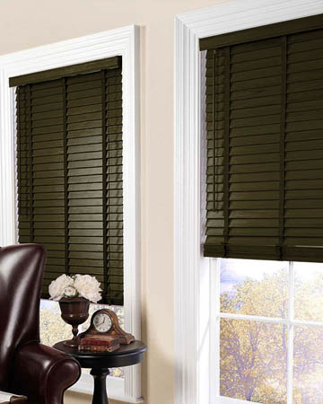 Wenge Wooden Blinds