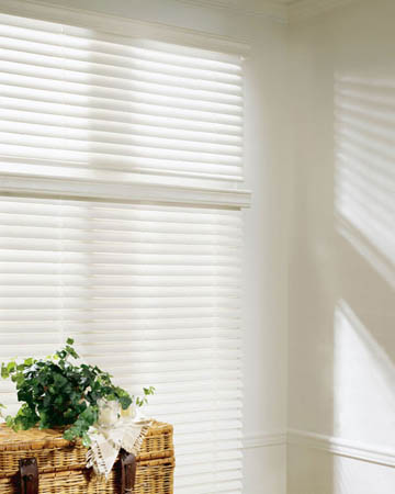 Polar White Wooden Blinds