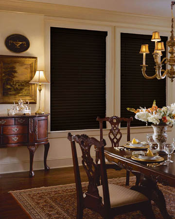 Styleline Express Plus Dark Chocolate Wooden Blinds