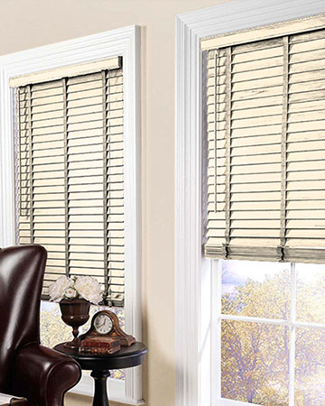 Styleline Express Plus Cream Wooden Blinds