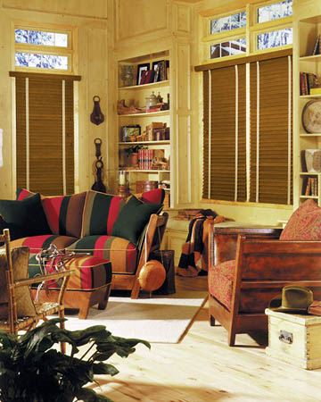 Styleline Express Plus Pecan Wooden Blinds