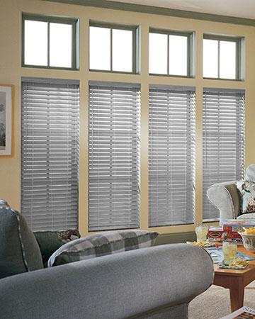 Styleline Express Plus Slate Wooden Blinds