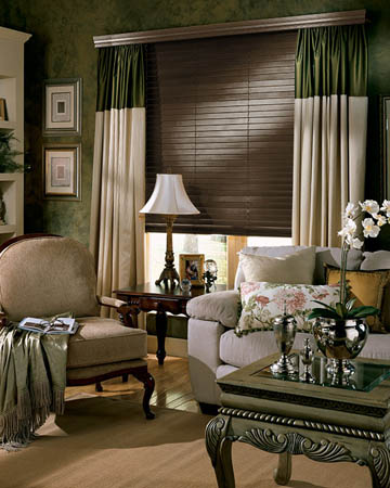 Styleline Express Plus Walnut Wooden Blinds
