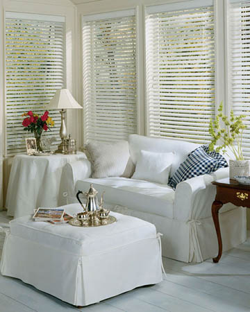Styleline Express Plus White Wooden Blinds